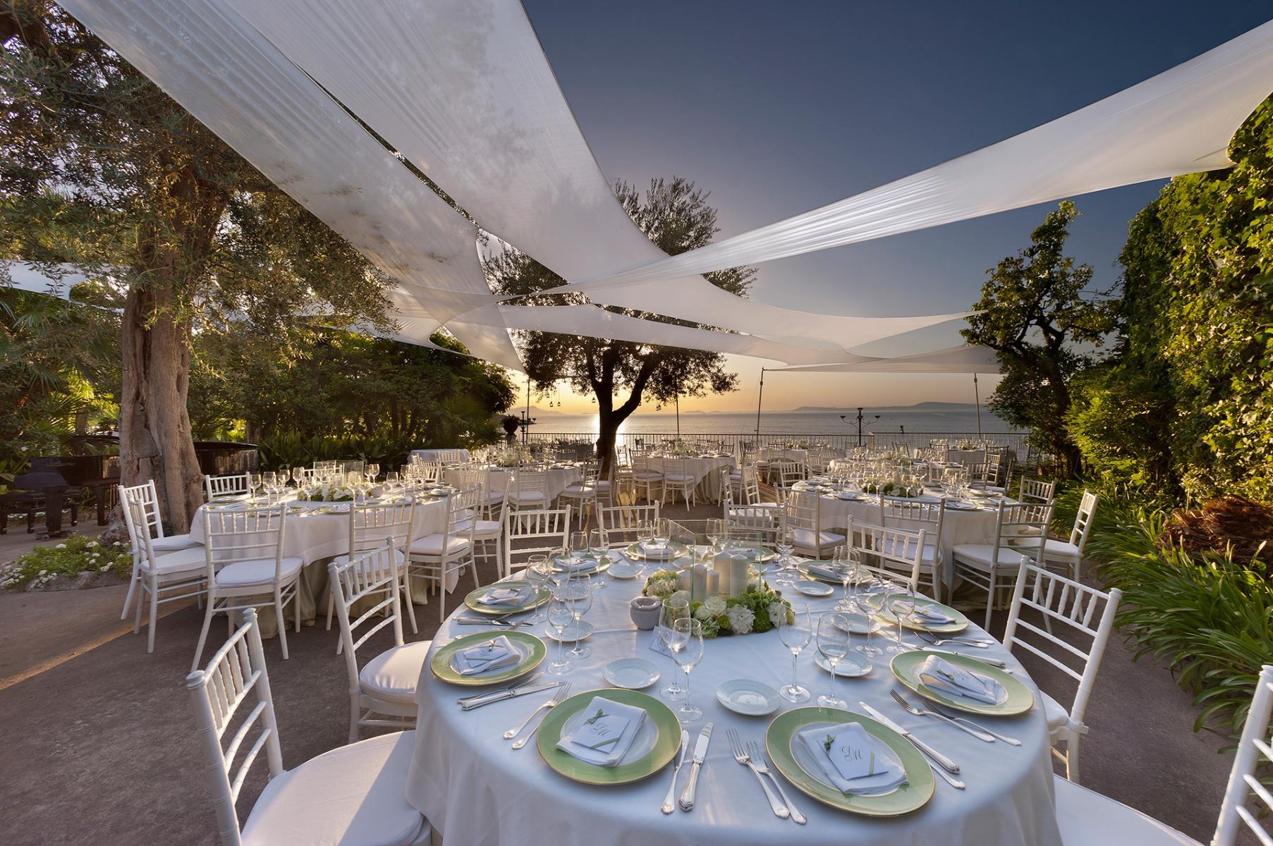 Villa Silvana Sorrento Villa Per Matrimoni Ed Eventi Nel